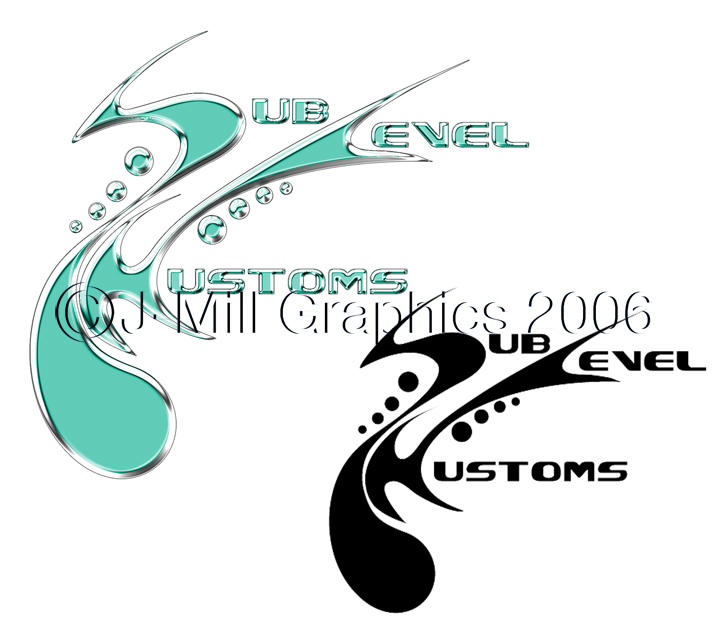 Sublevel Kustoms by jmillgraphics