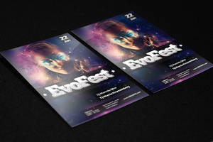 Flyer Evofest - Download FREE by MarcosRenatoDesign