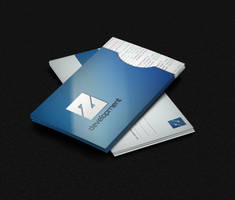 Template Cartao Z Development FREE by MarcosRenatoDesign