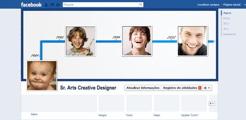 Template Facebook Timeline FREE by MarcosRenatoDesign