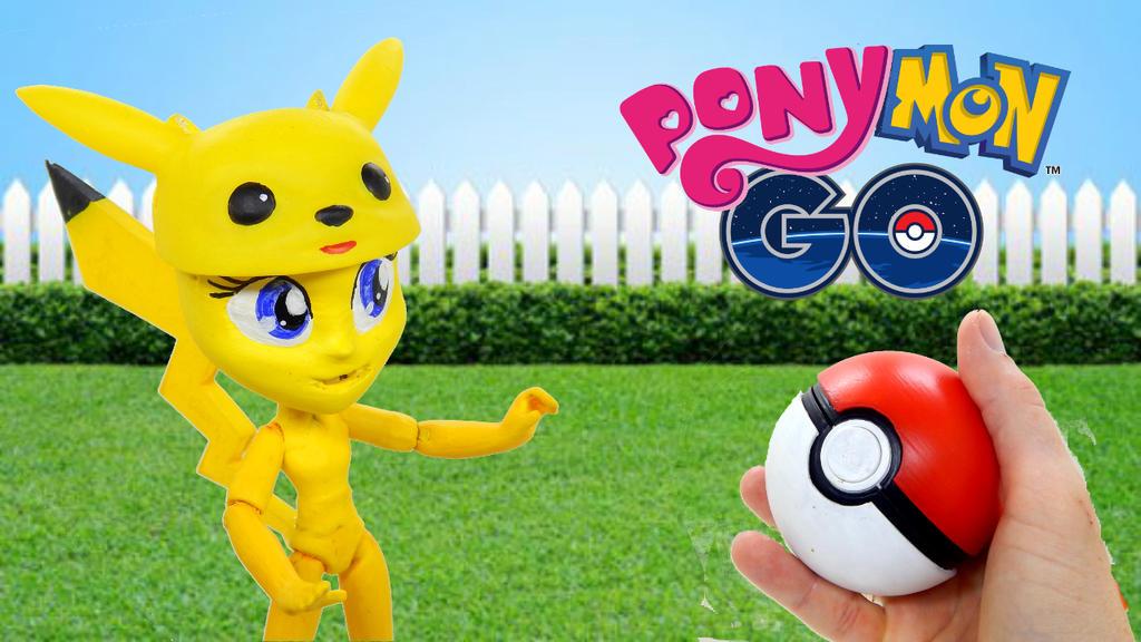 Diy Custom Pokemon Go From My Little Pony Equestri by suslovm