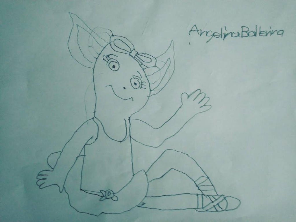 Angelina Ballerina (biggle version) by ccarvajalus