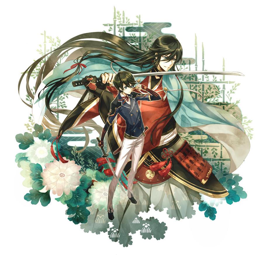 Touken Ranbu : Kanesada + Horikawa by fylus