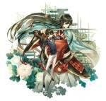 Touken Ranbu : Kanesada + Horikawa