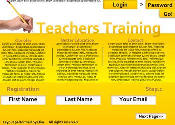 Teachers Training by xXxQkaxXx