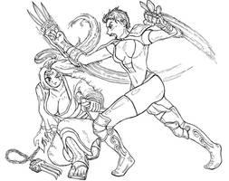 GG Baiken versus Diablo Baiken
