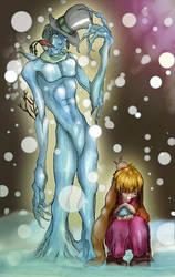 Bisnowman with Bunnygirl