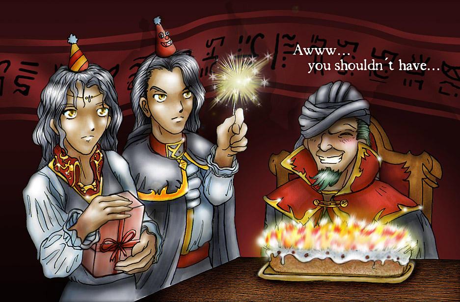 Flo' classe... Les Chapitres de Fire Emblem Seven - Page 4 Fire_Emblem__Lets_Party_by_M_kun
