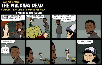 TWD S1E2   Did You Lick It? (SPOILERS) by TheGouldenWay