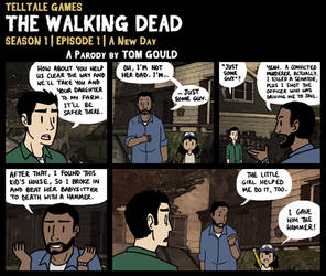 TWD S1E1   Honest-Lee by TheGouldenWay