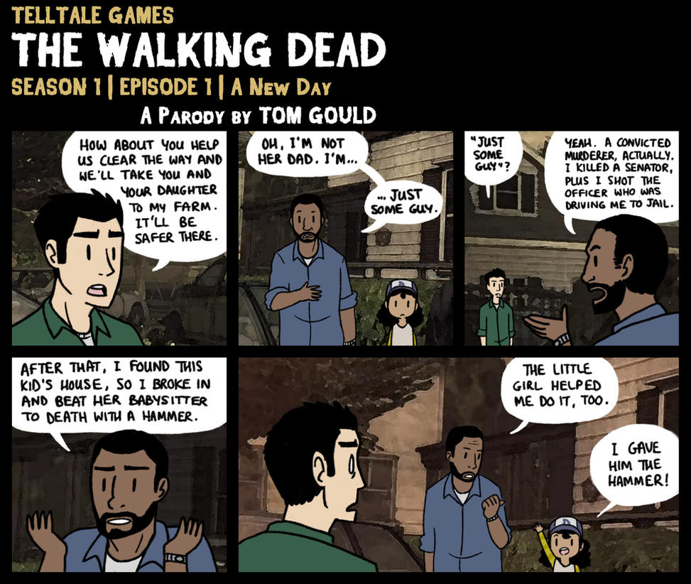 TWD S1E1 | Honest-Lee by TheGouldenWay