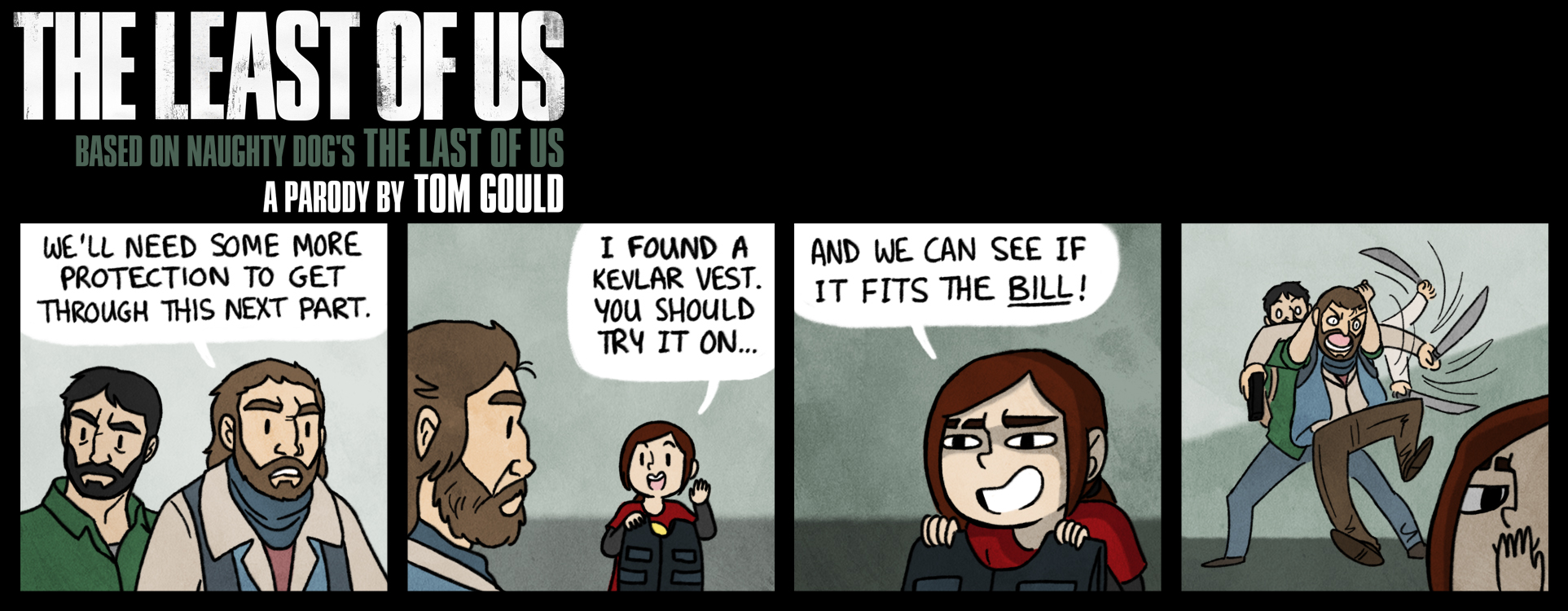 TLOU | Lessons in Fitting by TheGouldenWay on DeviantArt