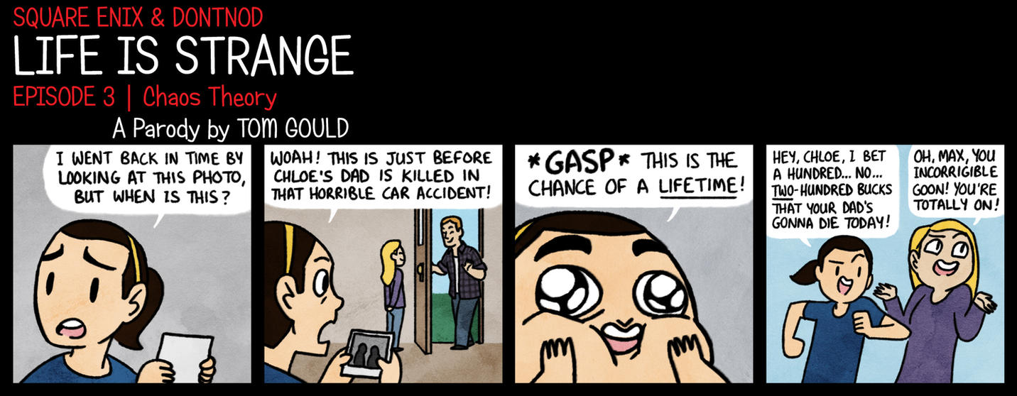 LIFE IS STRANGE | Taking Chances by TheGouldenWay