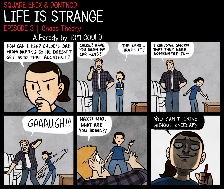 LIFE IS STRANGE | Finders KEYpers by TheGouldenWay