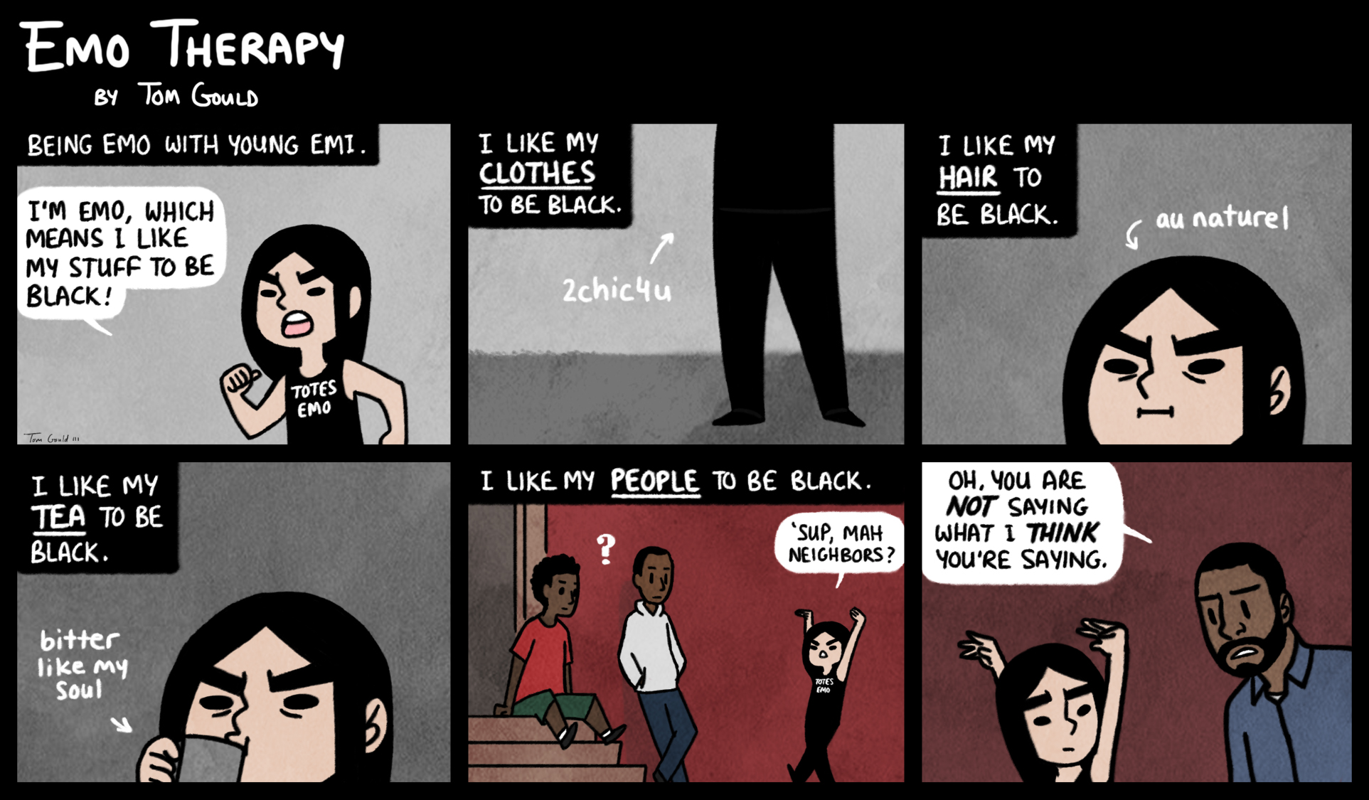 Emo Therapy Observations On Blackness By Thegouldenway