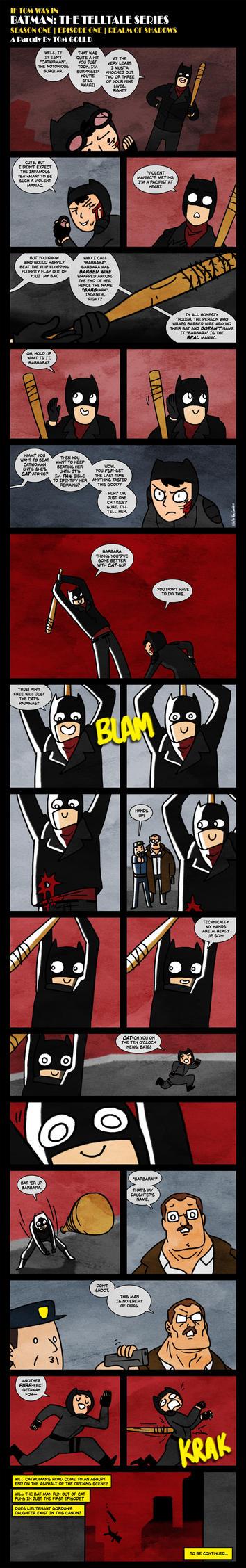 BAT-MAN S1E1 | O-pun-ing Scene by TheGouldenWay