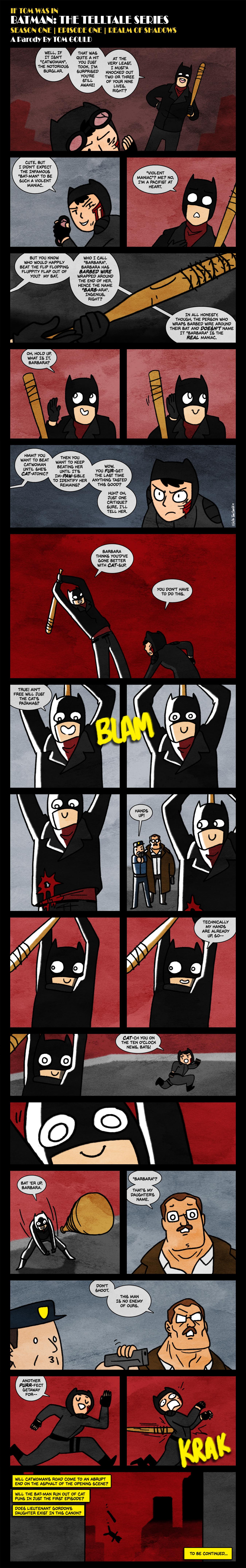 Bat Man S1e1 O Pun Ing Scene By Thegouldenway