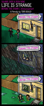 LIFE IS STRANGE | ...The Storm by TheGouldenWay
