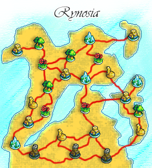 The Land of Rynosia by Sawrock