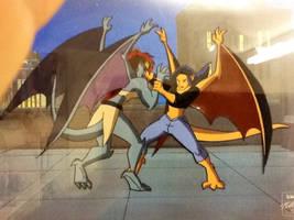 Gargoyle Elisa Colored