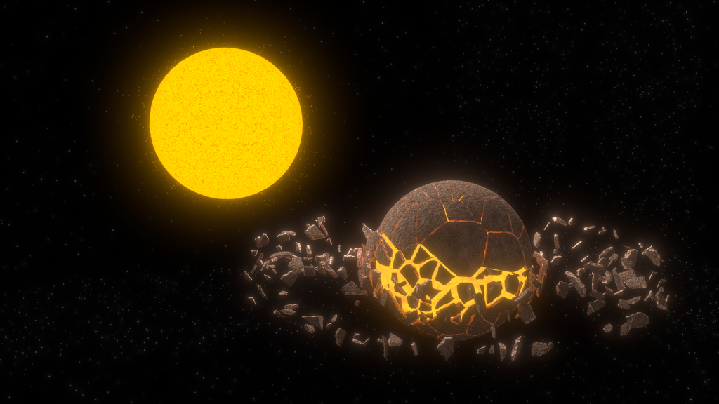 Planet/Star render by Disenchanted-Heart