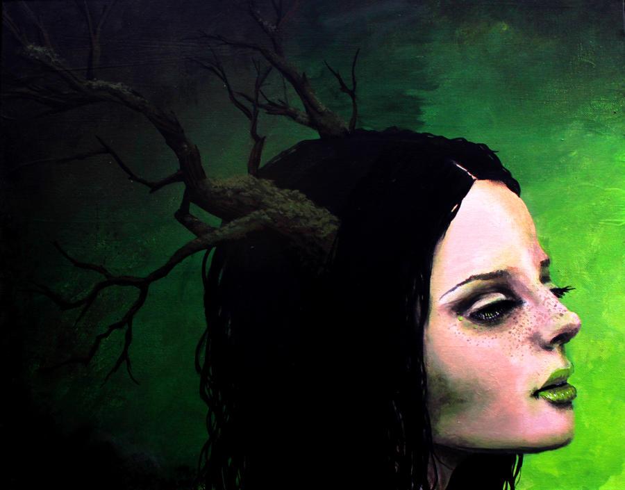 Portrait of Gaia by TreeCree