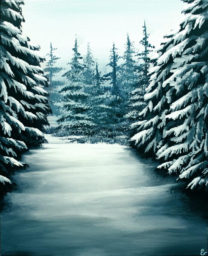 Snowy Path by TreeCree
