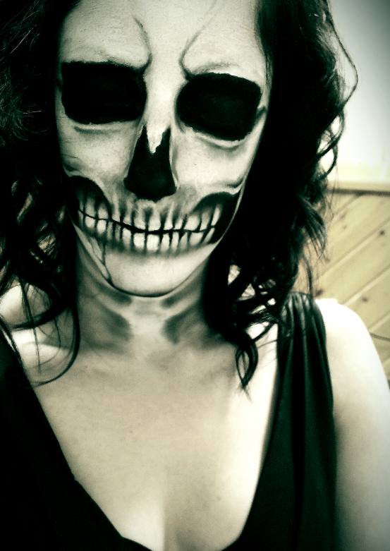 My Halloween Makeup by TreeCree
