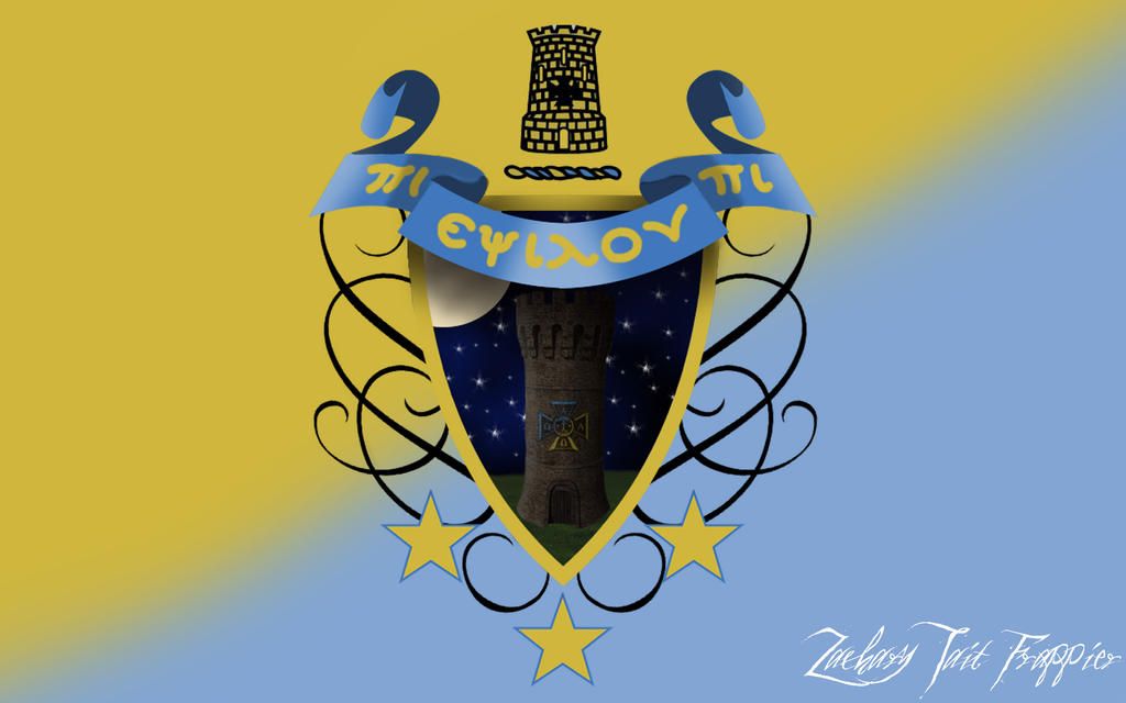 Alpha Tau Omega Fraternity Picture Crest By Zactaitfrappier On