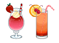 Daiquiri and Shirley Temple by olioil