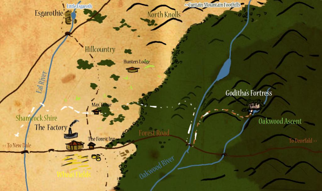 Forest Map by Alikuu