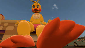 Toy chica POV toes