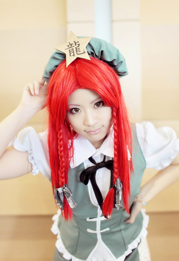 Hong Meiling 2 by Shino-Arika