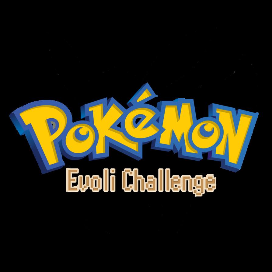 Logo Pokemon Evoli Challenge by Faucon-Bleu
