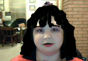 I gimped my self as Lydia Deetz