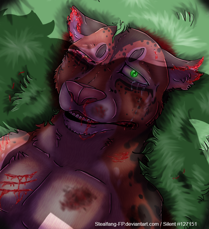 Injured Anthro Agni by Stealfang-FP