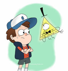 Bill and Dipper