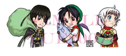 Suikoden: Stand Friends 2007 by hoolijing