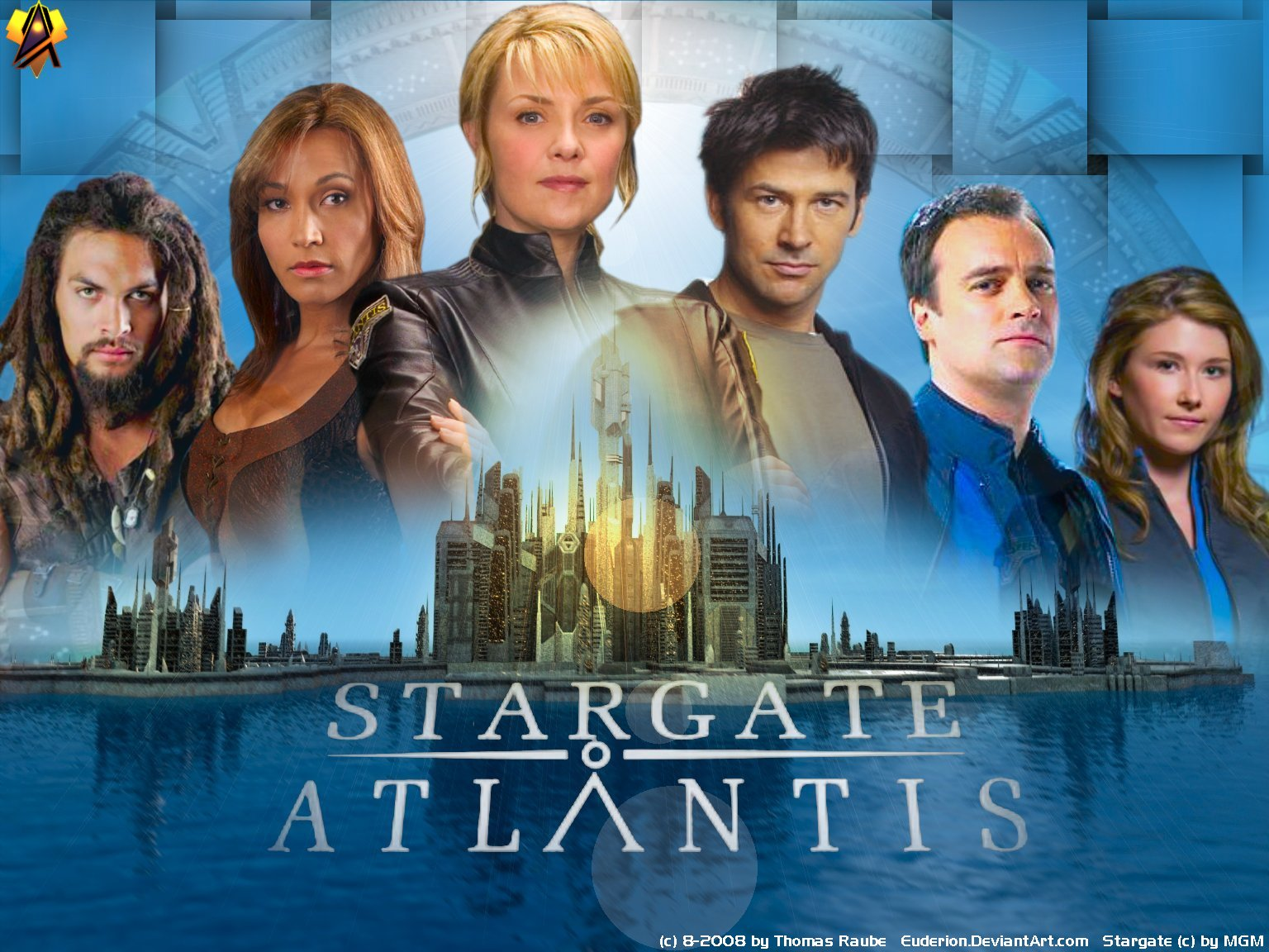 Stargate Atlantis Wall