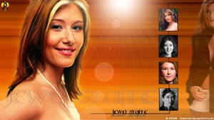 Jewel Staite Wall