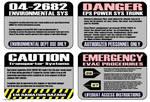 Warning Labels Star Trek Style