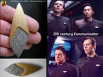 Star Trek 29th Century Communicator Prop