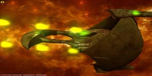Romulan Escort cruiser