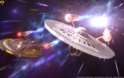 Full Speed ahead - Mirror NX and Constitution by Euderion