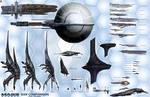 Mass Effect Starship Size Chart Comparison