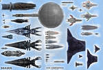 Mass Effect Top View Size Comparison Chart
