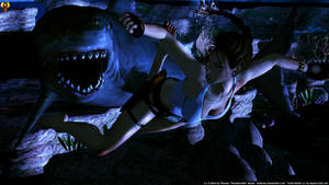 Lara's Shark Night by Euderion