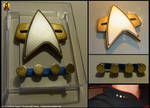 Star Trek Magnetic Communicator Badge Prop
