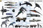 Mass Effect Small Vehicles Size Comparison