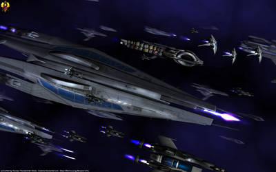 Sword Fleet by Euderion